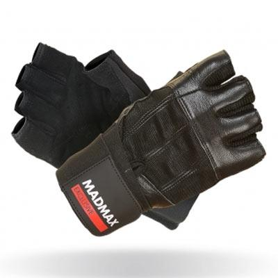Mad Max Fitness rukavice Professional Exclusive 269 - černé ... a6704264ab