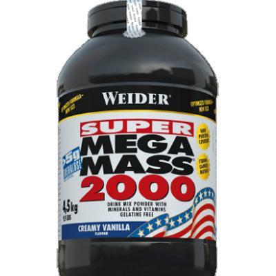 Výsledek obrázku pro Weider Super Mega Mass 2000 4,5kg