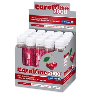 Carnitine 2000mg 20x 25ml
