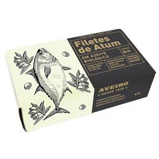 Tuňákové filety v BIO olivovém oleji 120g