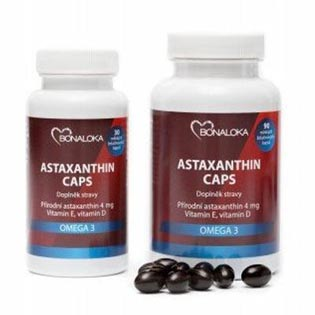 Astaxanthin Caps Omega 3  30 kapslí
