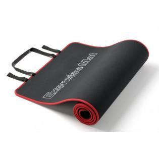Podložka na cvičení EVA červeno/černá 180 x 60 x 0,6 cm
