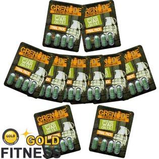 Grenade Fat Burner Trial Pack   Grenade