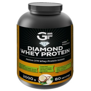 DIAMOND Whey Protein 2000 g + Šejkr 600 ml. ZDARMA