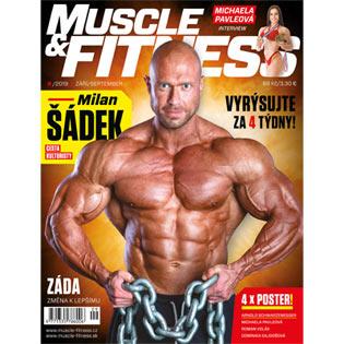 Časopis Muscle & Fitness ČERVENEC 2017
