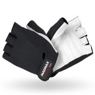 Fitness rukavice Basic 250 - bílé/černé