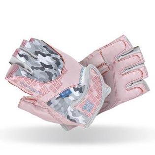 Fitness rukavice No Matter 931 - růžové