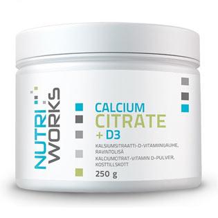 Calcium Citrate + D3  250 g