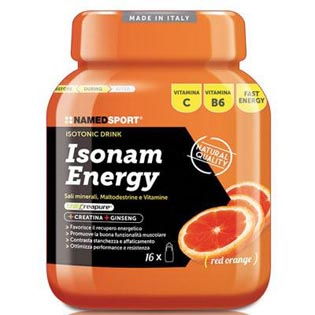 Isonam Energy 480g - citron