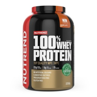 100% Whey Protein 2250g - biscuit