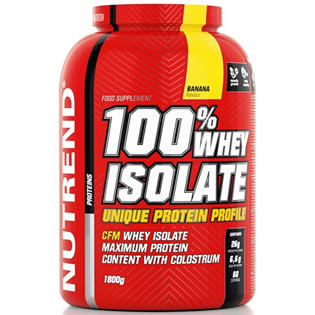 100% Whey Isolate 1800g - banán