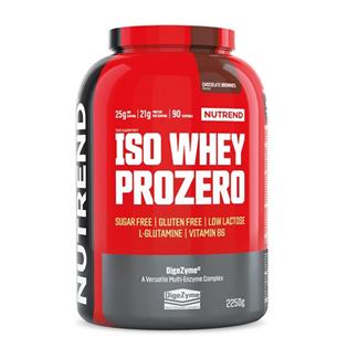 Iso Whey Prozero 2250 g + Glutamine 300 g ZDARMA