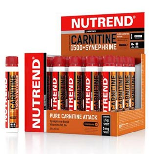 CARNITINE 1500 + Synephrine 20x 25 ml.