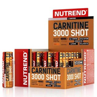 Carnitine 3000 Shot 20x 60ml.