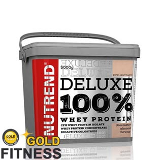 DELUXE 100% WHEY 5kg - jahodový cheesecake