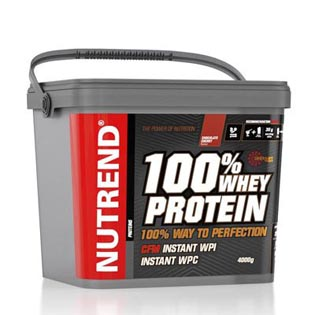 100% Whey Protein 4000g - biscuit