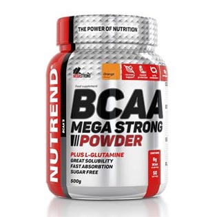 BCAA Mega Strong Powder - 500g - ananas