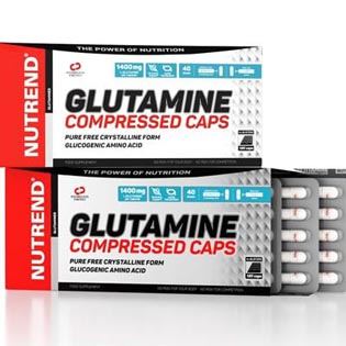 Glutamine Compressed Caps 120 kapslí