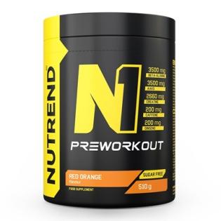 N1 PRE-Workout 510g - červený pomeranč