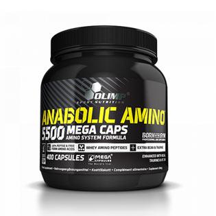 Anabolic AMINO 5500 400tbl. - Olimp