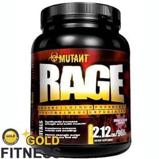 Mutant Rage 960g - PVL Nutrients