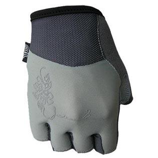 Cyklistické rukavice Chloris dámské - šedé velikost S