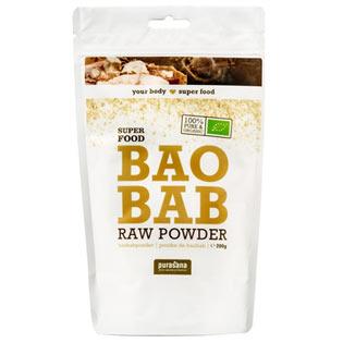 Baobab Powder BIO 200g - Purasana