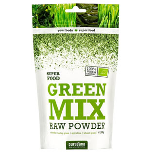 Green Mix Powder BIO 200g - Purasana
