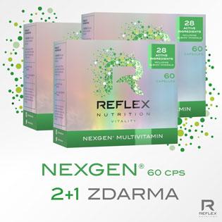 Nexgen 60 kapslí - AKCE 2+1 ZDARMA