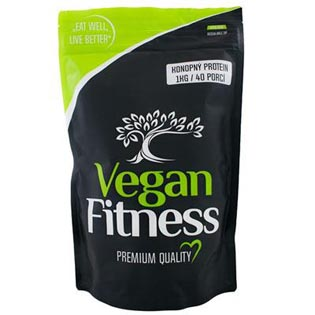 100% RAW Konopný Protein 1kg - Vegan Fitness