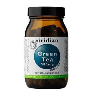 Organic Green Tea  90 kapslí - Viridian
