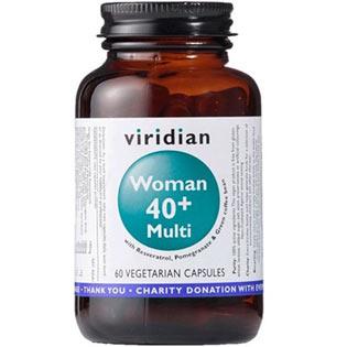 WOMAN 40+ Multi 60 kapslí - Viridian