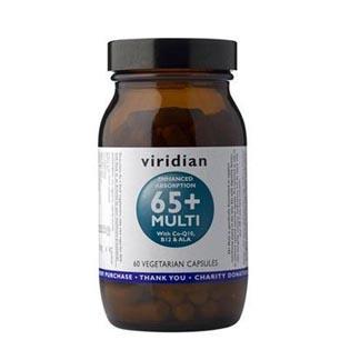 65+ Multi 60 kapslí - Viridian
