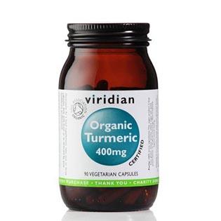 Organic Turmeric 400mg 90 kapslí