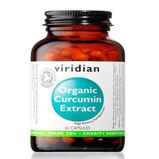 Organic Curcumin Extract 60 kapslí