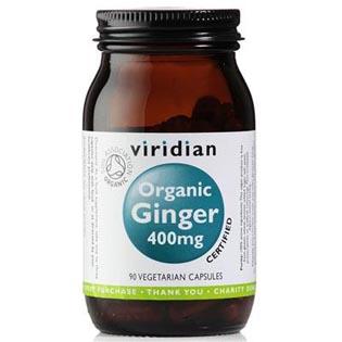 Organic Ginger 400mg 90 kapslí