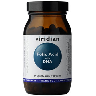 Folic Acid with DHA  90 kapslí