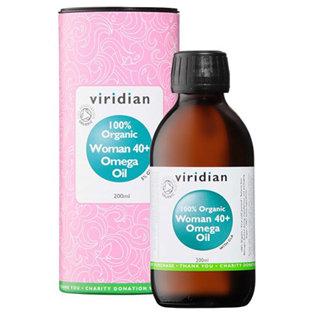 Organic Woman 40+ Omega Oil  200ml