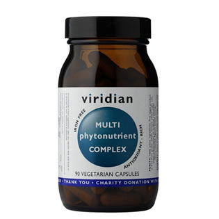 Multi Phyto Nutrient Complex 60 kapslí - Viridian