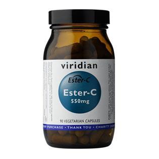 Ester C 550mg 90 kapslí - Viridian