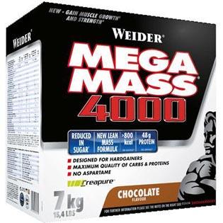Giant Mega Mass 4000 7kg - čokoláda