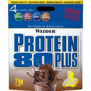 Protein 80 Plus 2kg - oříšek-nugát-novinka