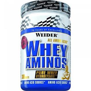 Whey Aminos 300tbl. - Weider