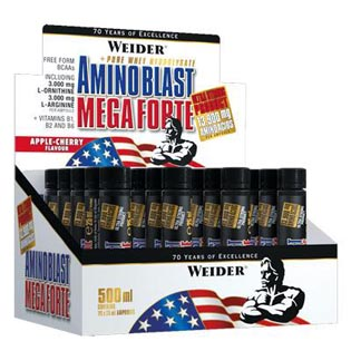 Amino Blast Mega Forte 20ampulí /25ml.