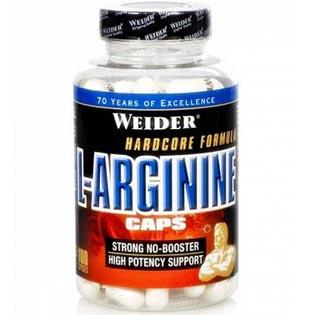 L-Arginine Caps 100 kapslí