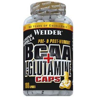 BCAA + L-Glutamine 180 kapslí