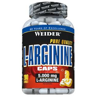 L-Arginine Caps 200 kapslí