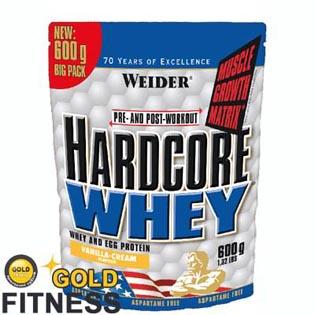 Hardcore Whey 600g - Weider