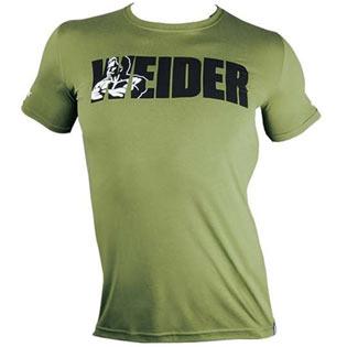 Tričko Basic  zelené - Weider