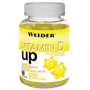 Vitamin D UP želatinové bonbóny 200g - citron
